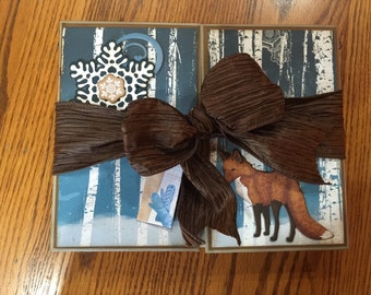 Winter Scrapbook Album