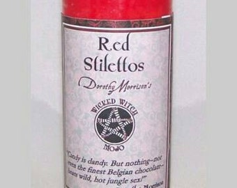 Red stilettos attraction candle SALE