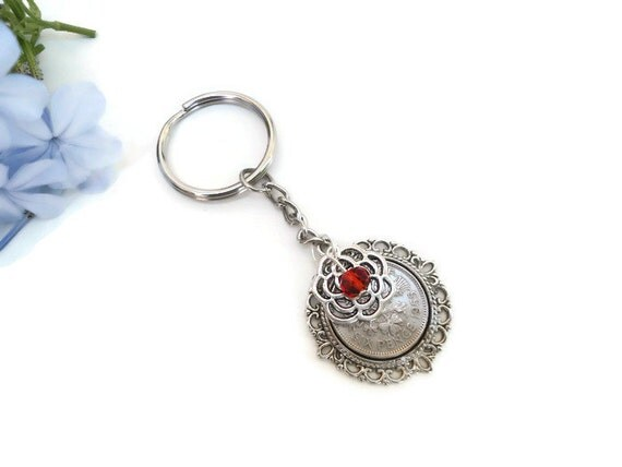 Keychain For Wedding Gift : gift, anniversary keychain, parent wedding gift, good luck gift ...