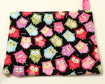 Sleepy Owls - Wet Bag