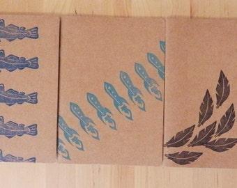 Lot of 3 average notebooks