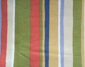 P Kaufmann Fabric Upholstery Stripe Fabric REMNANTS