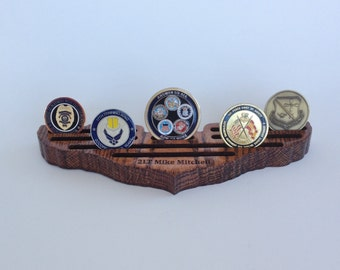 Coin Holder -- Small Pilot Wings