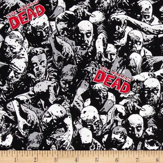 Walking Dead Fabric, Fabric Cut to Length, Online Quilting Fabric ... : online quilting fabric stores australia - Adamdwight.com