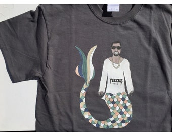 Kanye Mermaid T shirt