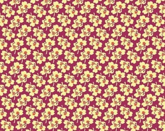 Cerise Pansies from Amy Butler's Eternal Sunshine Collection by Free Spirit