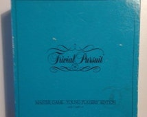Trivial Pursuit Master Game Young Player Edition Vintage Board Game 1984