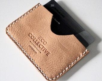 Leather Card Holder Case Wallet Handmade in Australia