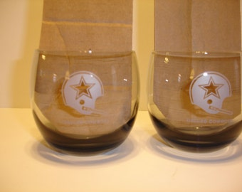 NFL Dallas Cowboys Set of Two Glasses