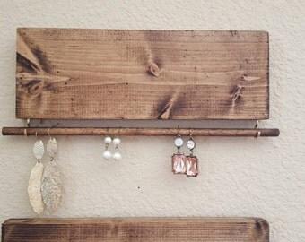 Decorative Wood Jewelry Display