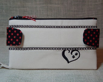 Yorkie Lovers/Wristlet Wallets/Gifts for Her/Handmade in USA/