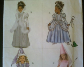 Butterick Sewing Pattern for Childs Princess Costume