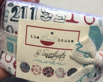Sweetwater The BOAT HOUSE Jelly Roll fabric moda