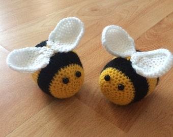 Buzz the Amigurumi Bee