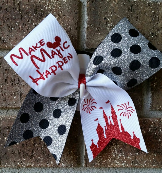 how to make a cheer bow without sewing