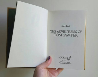 Vintage Book / The Adventures of Tom Sawyer