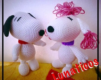 Snoopy and Fifi Amigurumi Crochet