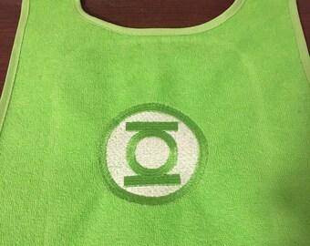Green lantern bib
