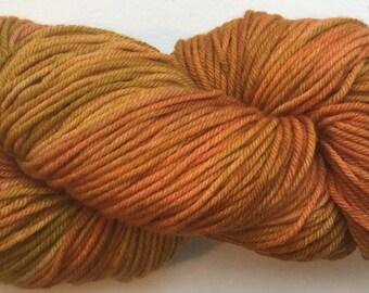 Ex Fine Merino Superwash - Springy Twist DK yarn, hand dyed by Mills and Loom, 100g, 200 metres