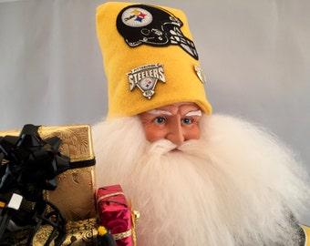 Pittsburgh Steelers Throw Back Santa