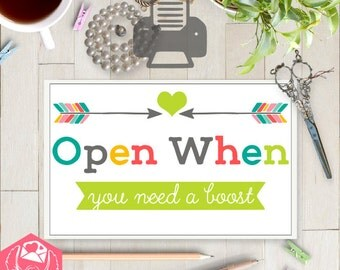 PRINTABLE DOWNLOAD | 10 Open When Envelopes | Open When Letters | Long Distance Letters, LDR Stationery, Love Gift, ldr, Care Package, MilSO
