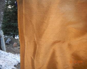 Rust Duponi Silk Fabric - 6 Yards