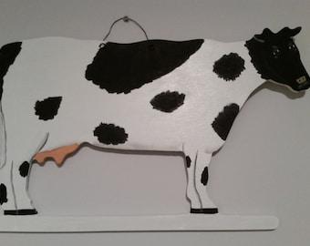 Custom Cow Wall Hanging