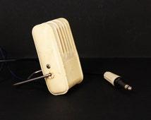 Vintage Ribbon Microphone Oktava MD-47 Desk Microphone Soviet Studio Microphone 1960s Microphone Mini Desk Microphone Dynamic Microphone