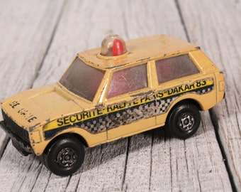 Matchbox No 20 Police Patrol 1975 Lesney Products Collectible Car Matchbox