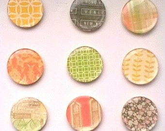 Epoxy Flair Websters Pages Park Drive Stickers Set Great For Scrapbook Embellishments,Planners,Project Life Epoxy Flairs