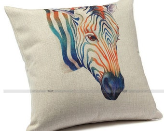 Zebra cushion cover, pillow cover