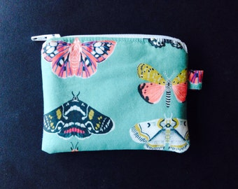 Butterfly and Moth Coin Purse
