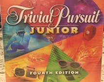 New and Sealed Trivial Pursuit Junior Fourth Edition - 1996 Parker Brothers - Bring Family Game Night Back!