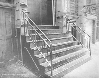 Stairs Photography, NYC Print, Soho New York Photography, Photo, Door Photograph, New York City Picture, Bedroom Wall Art Print 8 x 10 Print