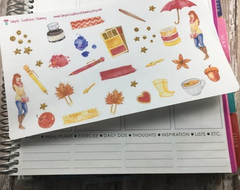 Molly the Planner Girl Stickers