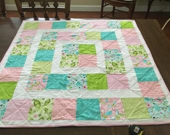 Infant, Childs, Shower Gift,  Handmade, Baby Quilt
