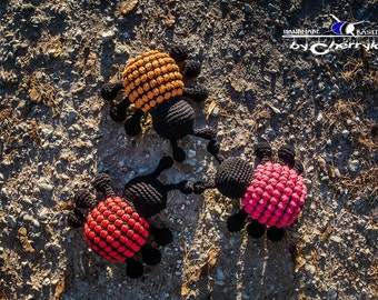 Spotty Insect Amigurumi Crochet Pattern, Ladybug Pattern, Spotty Animal Pattern