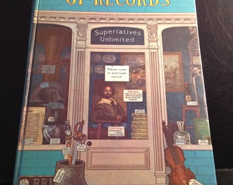 Vintage 1972 Guinness Book of World Records, Hardback Book, Retro Record Breaker Book, edited /compiled by Norris  and Ross McWhirter.