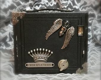 "Vintage Kodak Brownie Box Camera - ""Observations"" - Item# VVC005"