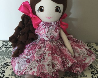 Fabric Doll, Soft Doll, Cloth Doll