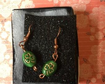 Really nice! Four leaf clover earrings