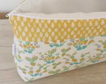Great make-up bag baby, child or adult, Collection Cactus