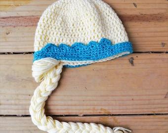 Crochet Elsa Hat