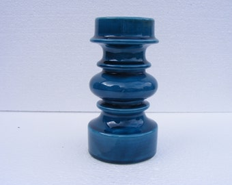 Blue Gallo candleholder