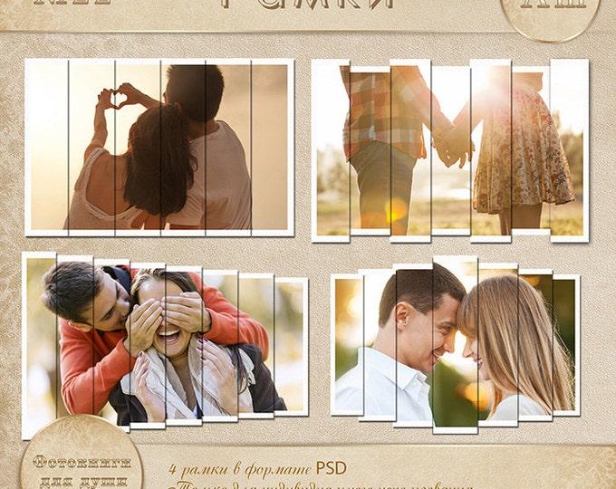 Frames - Digital scrapbook frames. Photo Book. Photo album. Frame Vol.3