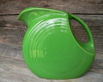 FIESTA PITCHER: LARGE Disc, Shamrock***Outlet Price***