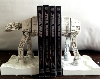 Star Wars AT-AT Imperial Walker Bookends