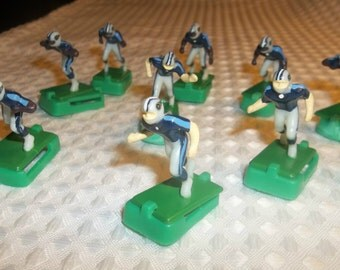 TENNESSEE TITANS Electric Football Players Hand Painted VintageTudor Nfl Figures or Cake Topper