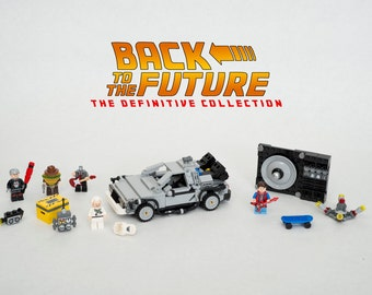 NEW Lego Back to the Future Definitive Collection - Delorean - Marty McFly - Doc