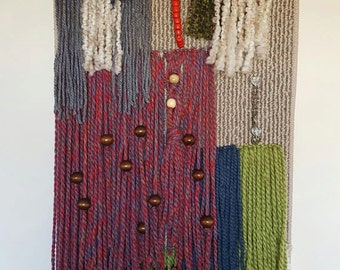 Unique woven wall hanging